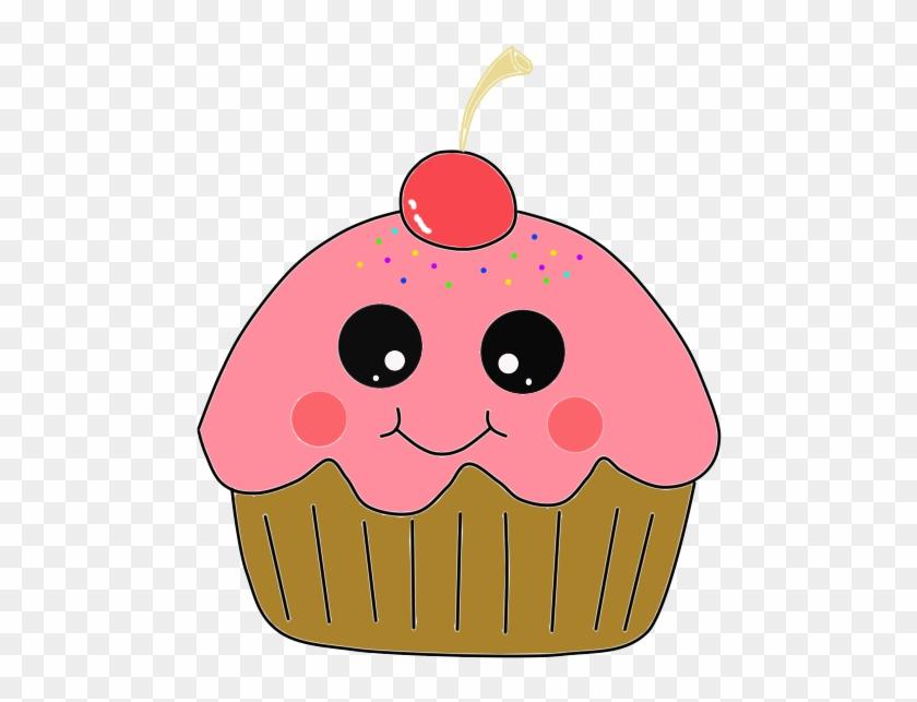 Cupcake Halloween Cake Muffin Cartoon Clip Art - Cupcake Halloween Cake Muffin Cartoon Clip Art #170956