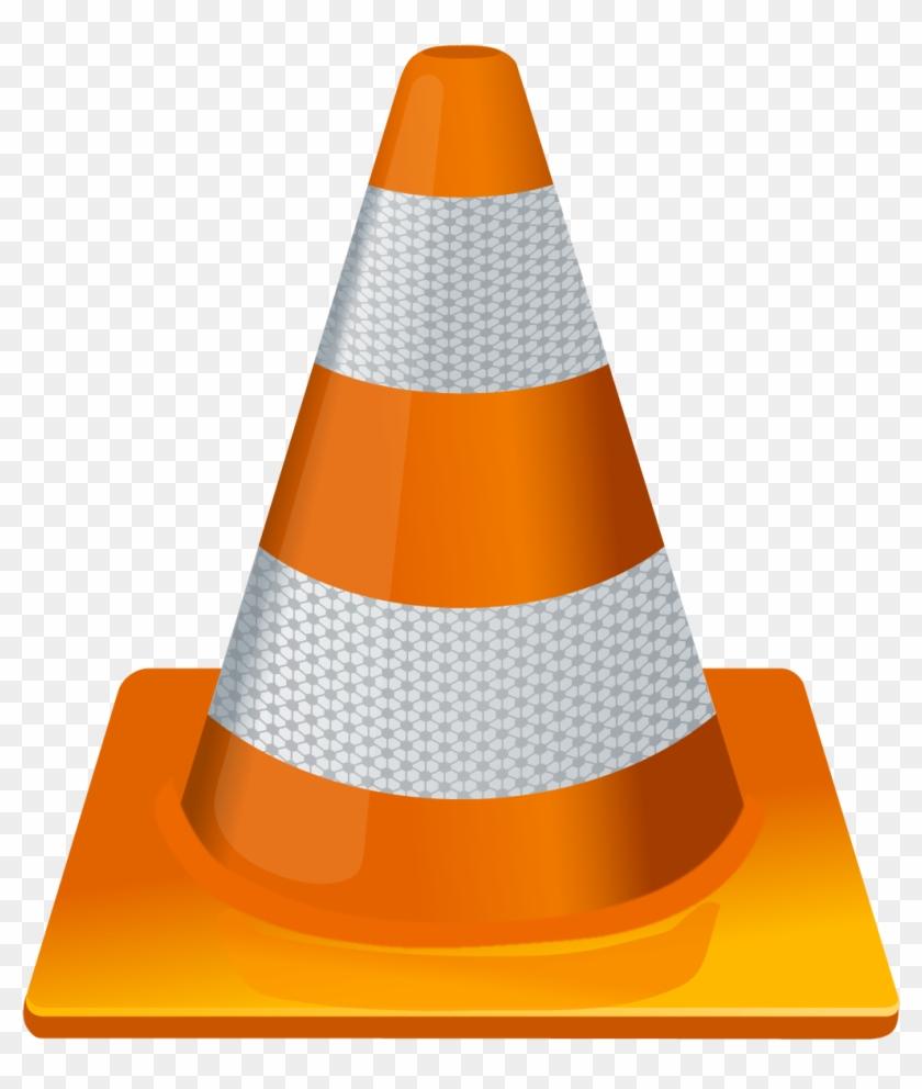 Vlc Player Icon Vector Traffic Cone - Vlc Media Player Logo #170971