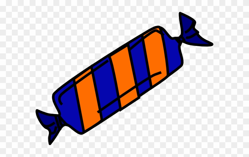 Blue And Orange Candy Clip Art - Orange And Blue Candy #171003