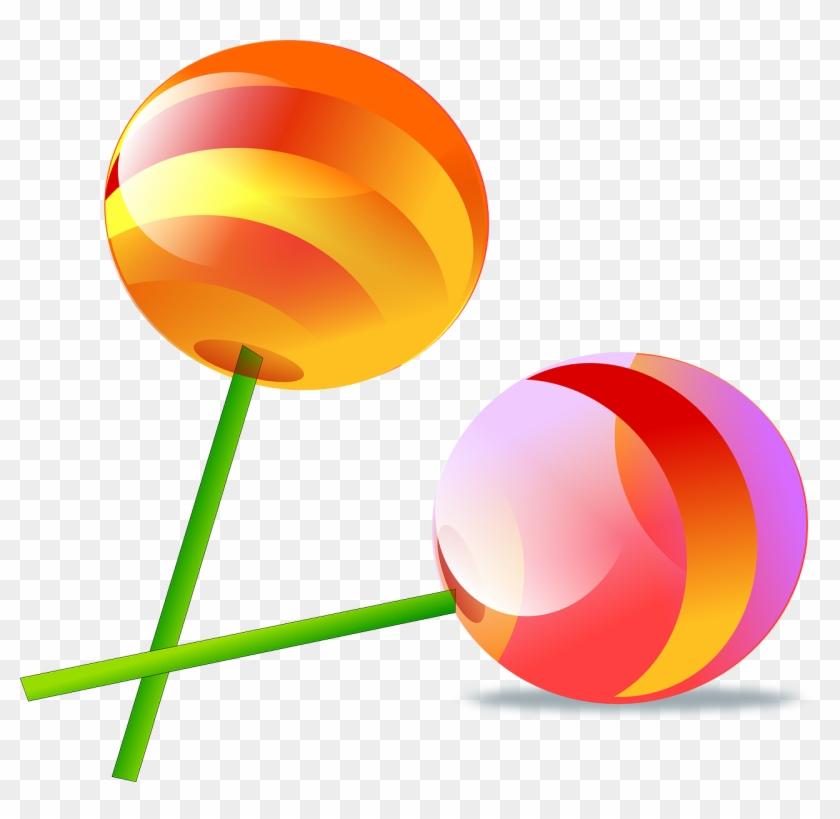 Lollipop - Two Lollipops Clipart #171041
