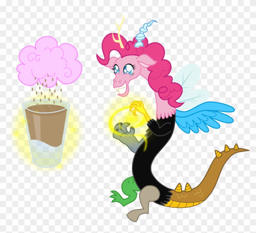 Pinkie Pie Twilight Sparkle Fluttershy Applejack Pony - Draconequus Mane 6 #171049