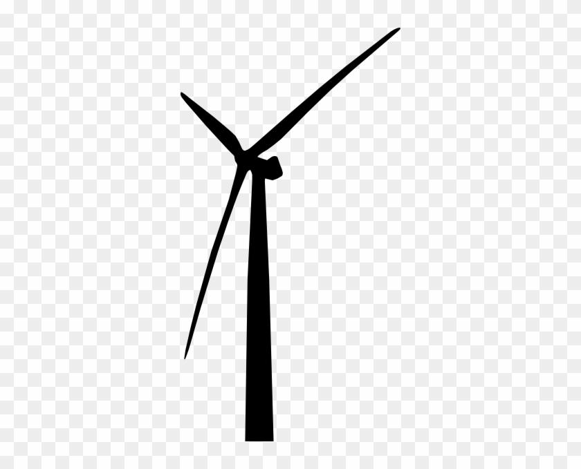 Wind Turbine Clip Art At Vector Clip Art - Wind Turbine Vector Png #171104