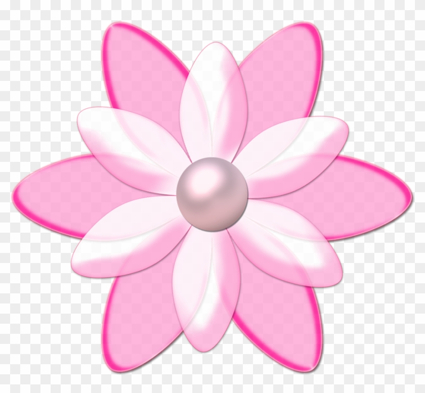 Flores Png - Flor Rosa Png #171110