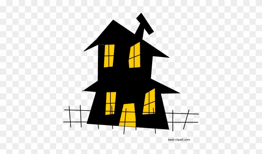 Haunted House Clip Art Image - House #171115