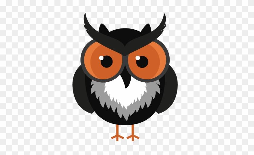 Halloween Owl Clip Art - Owl Halloween Cartoon #171119