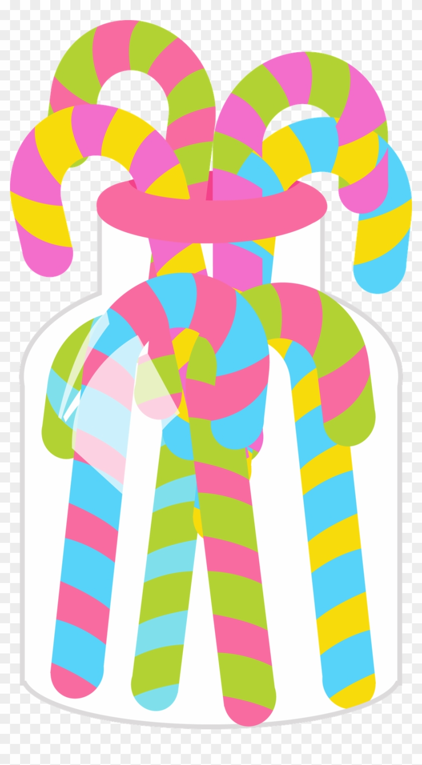 Say Hello - Candyland Party Clip Art #171127