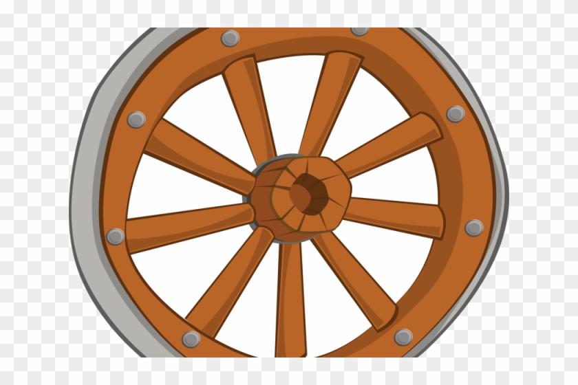 Cowboy Clipart Wheel - Wagon Wheel Clip Art #171128