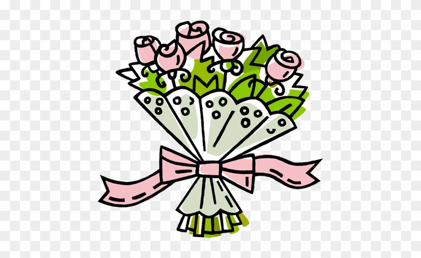 Bouquet Of Roses Clipart Panda Free Images - Clipart Bouquet #171138