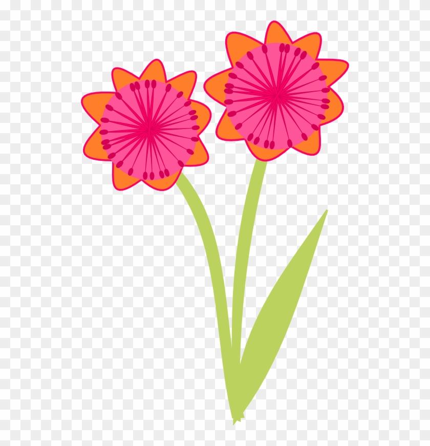 Free Pink Scrap Flower - Blumen Png Clipart #171142