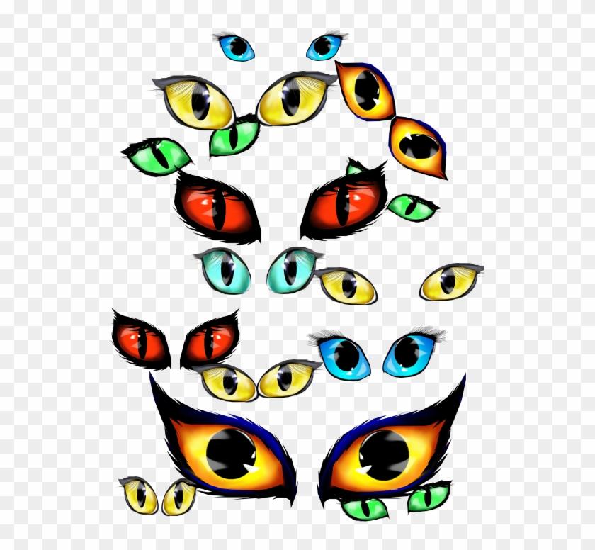 Halloween Eyes Cliparts - Halloween Eyes Clip Art #171147