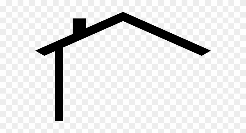 House Roof Clip Art - House Roof Vector Png #171146