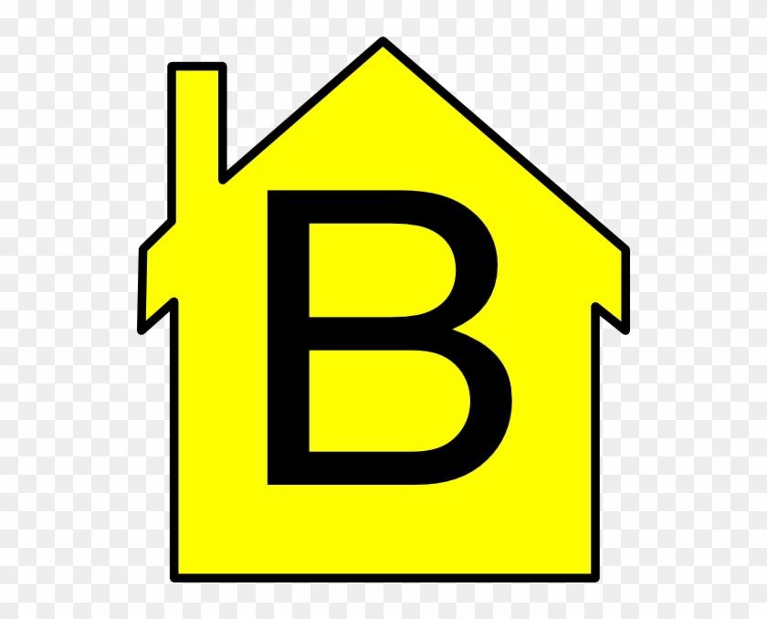Yellow House Outline Clip Art At Clker - Hybernska Kampus #171170