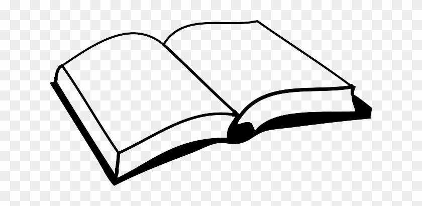 Old, School, Black, Icon, Paper, Pen, Outline, Symbol - Open Book Clip Art #171178