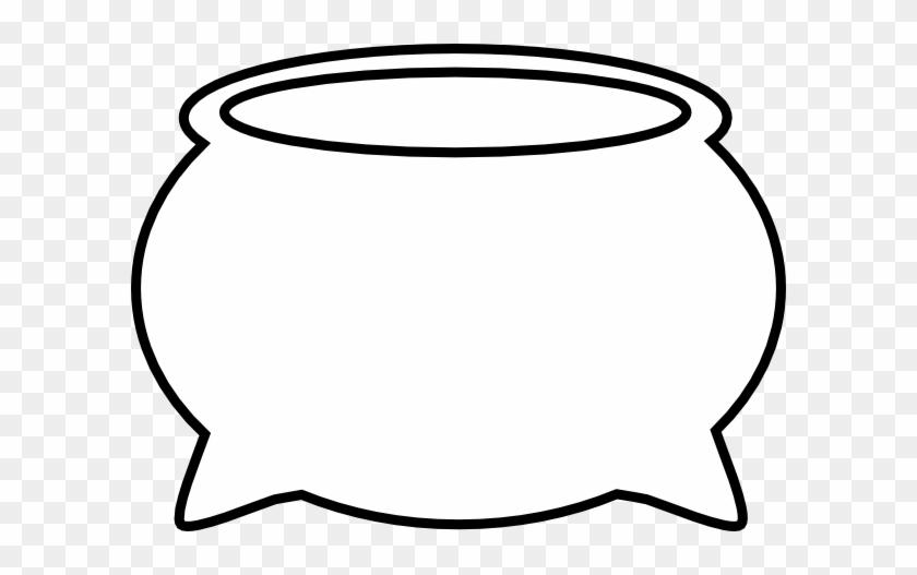 Cauldron Outline Clipart - Brunswick Stew #171181