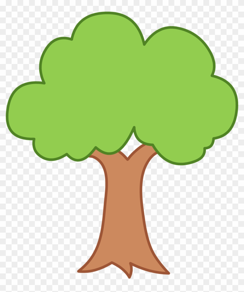 Clip Art Tree Outline - Tree Clipart #171184