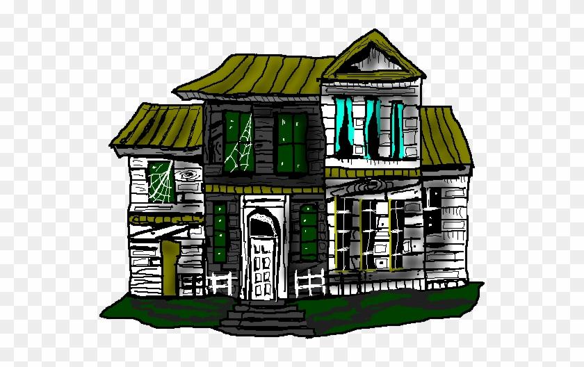 Top 91 Haunted House Clip Art - Cartoon #171191