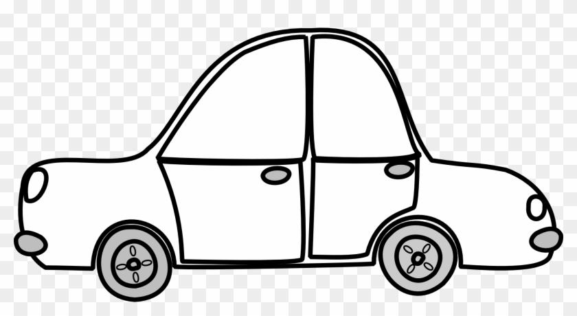 Car Outline Clip Art At Clker Com Vector Online Clipart - Car Clipart Outline #171194