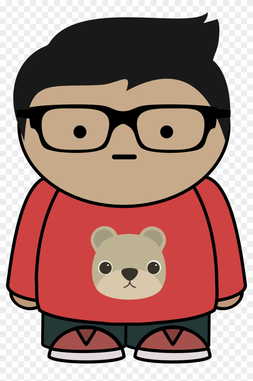 Boy With Glasses Clipart Cartoon Characters With Glasses Free