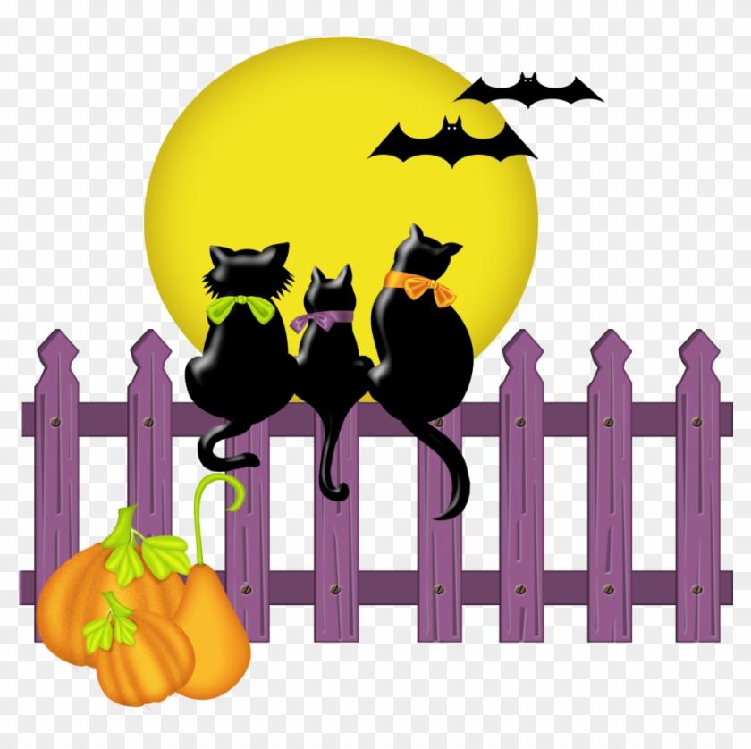 Http - //rosimeri - Minus - Com/mbvb4ov0nnhzl5 - Cats On A Fence Clipart #171214