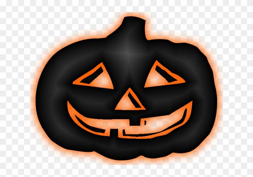 Halloween Transparent Png Image - Calabaza Negra Halloween Png #171232