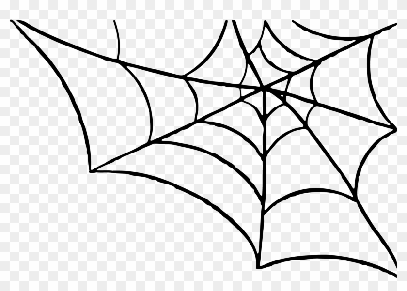 Halloween Spider Web Clipart Clipart Kid - White Spider Web Png #171235