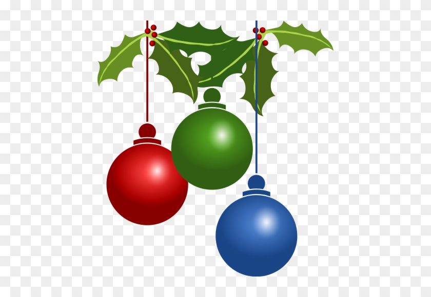 Free Christmas Ornaments - Christmas Decorations Clipart #171251