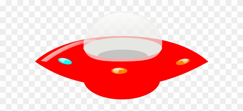 Red Ufo Clipart #171263