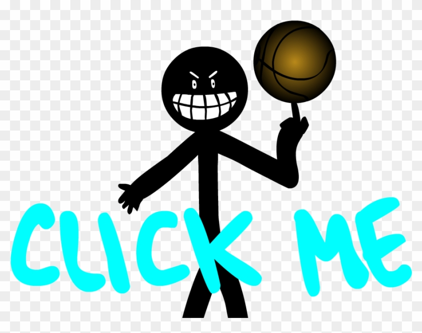 How To Dunk 2 By Ginln On Clipart Library - Stickman Dab #171314