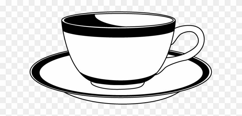Saucer 20clipart - Cup And Saucer Clip Art #171371