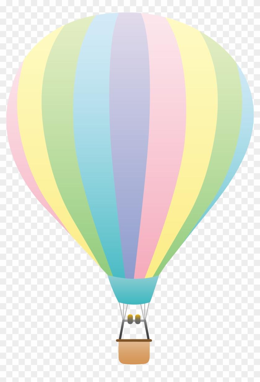 Hot Air Balloon Clip Art - Hot Air Balloon Printable #171398