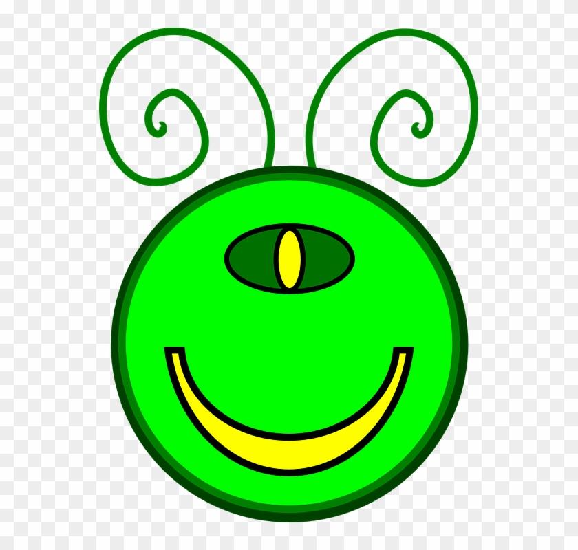 Alien Clipart Monster Face - Mutant Clipart #171485