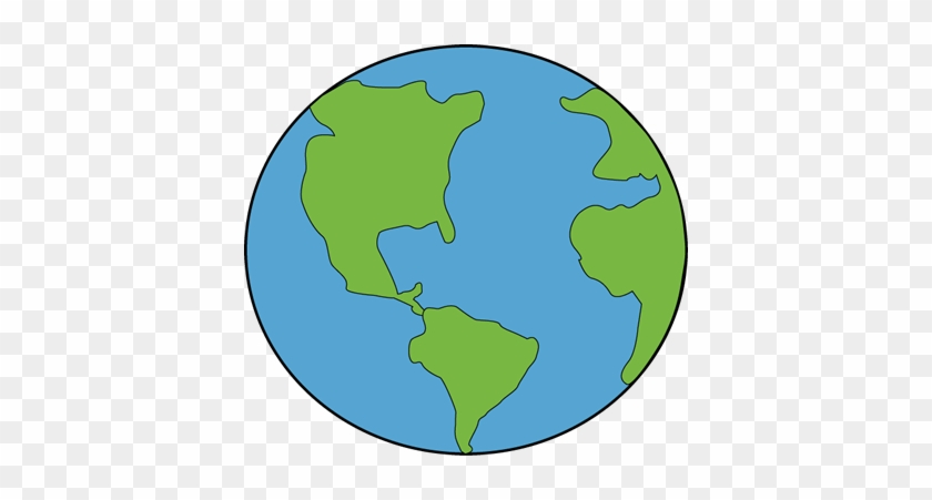 Earth Clipart Black And White Free Images - Earth Clipart #171511