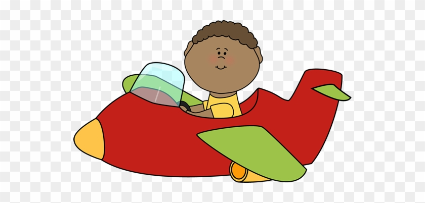 Cute Airplane Clipart - Flying A Plane Clipart #171548