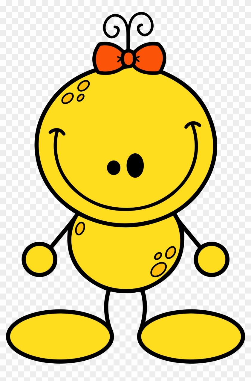 *✿**✿*alien*✿**✿* - Yellow Alien Clipart #171564