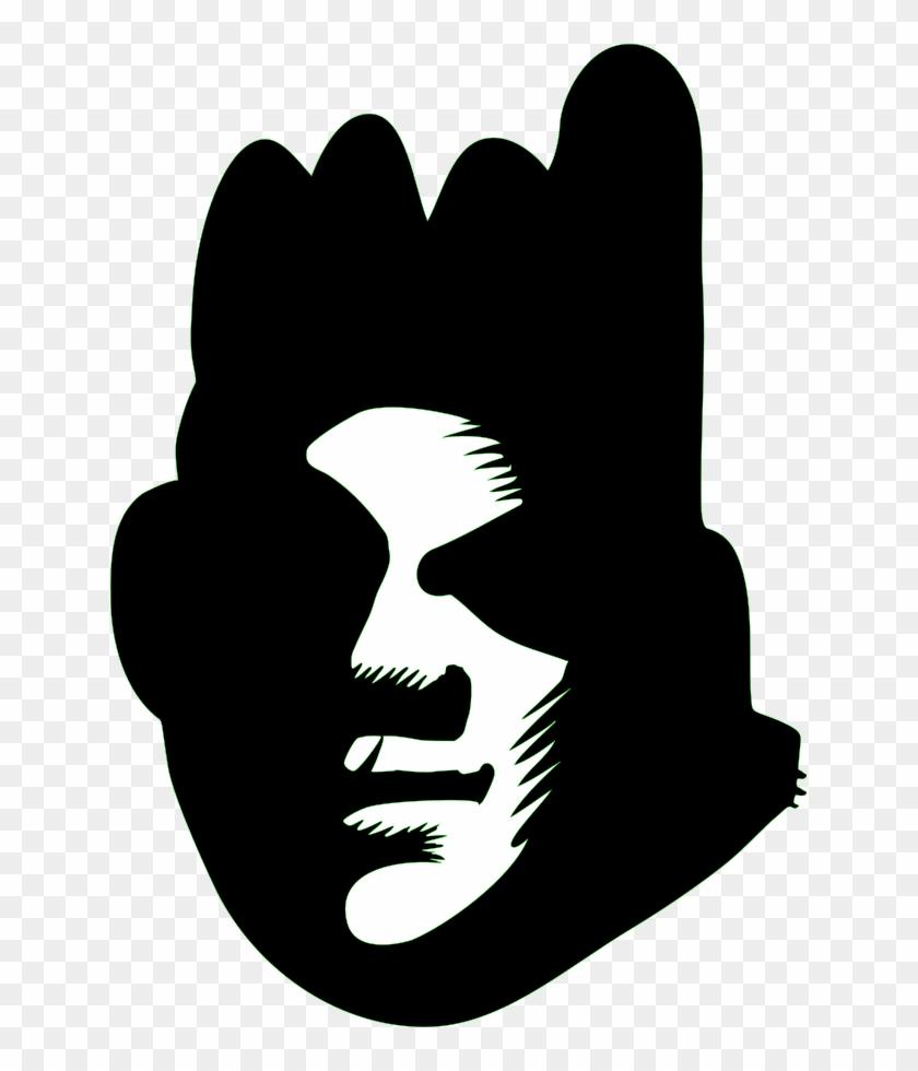 Graffiti - Clipart - Black Face Clipart #171574