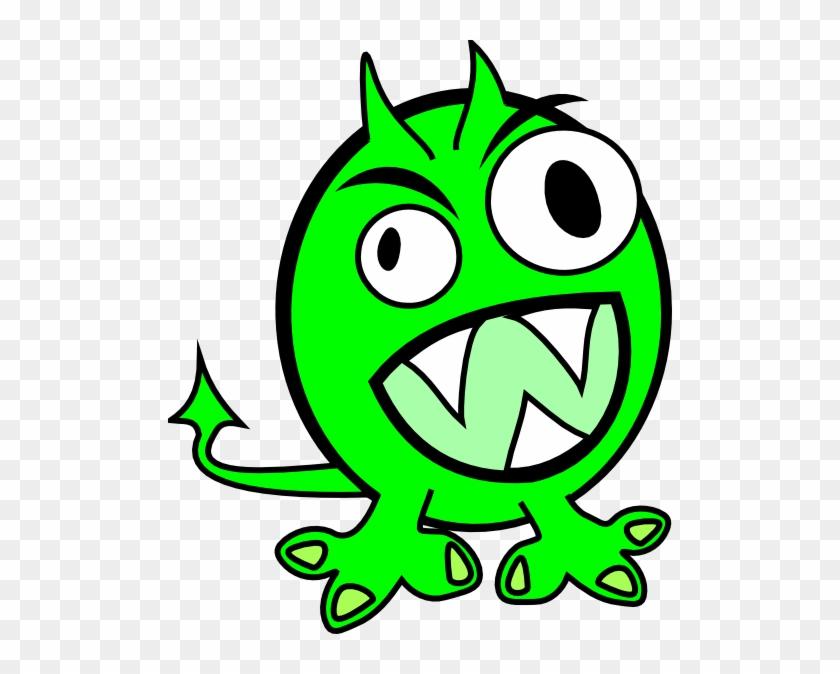 Green - Monster - Clipart - Green Monster Clipart #171600