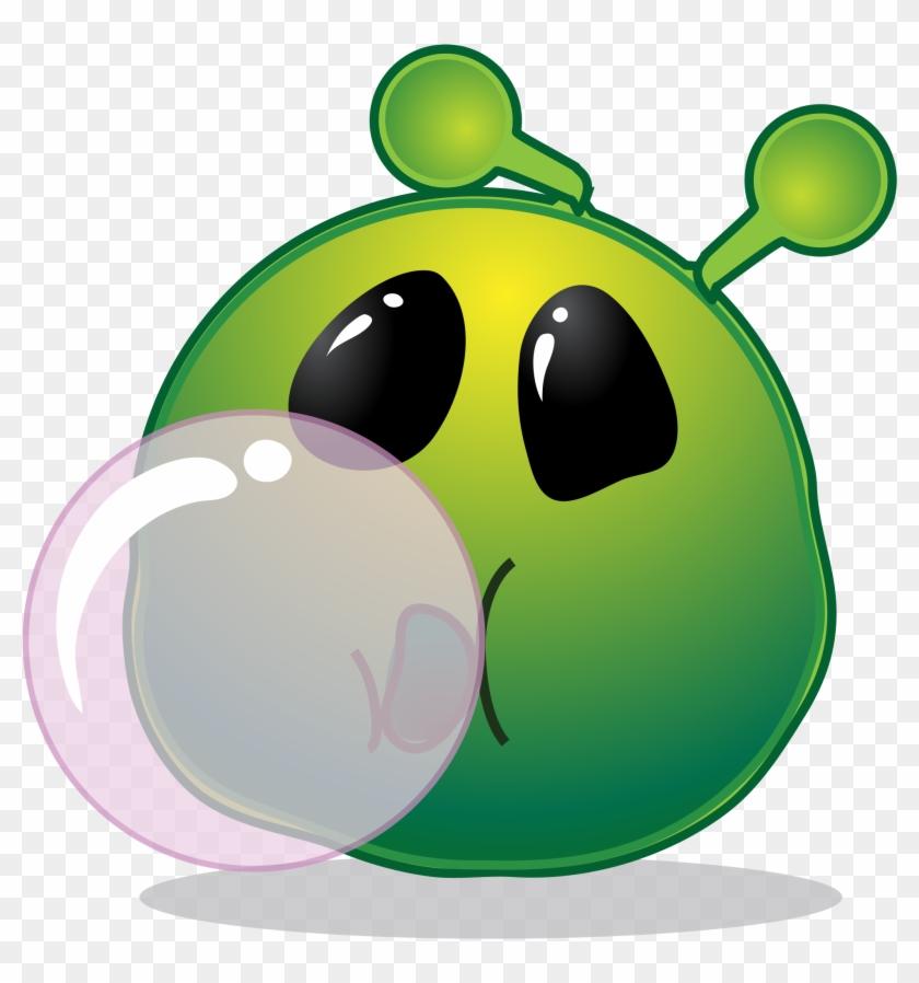 Open - Smiley Chewing Gum #171601