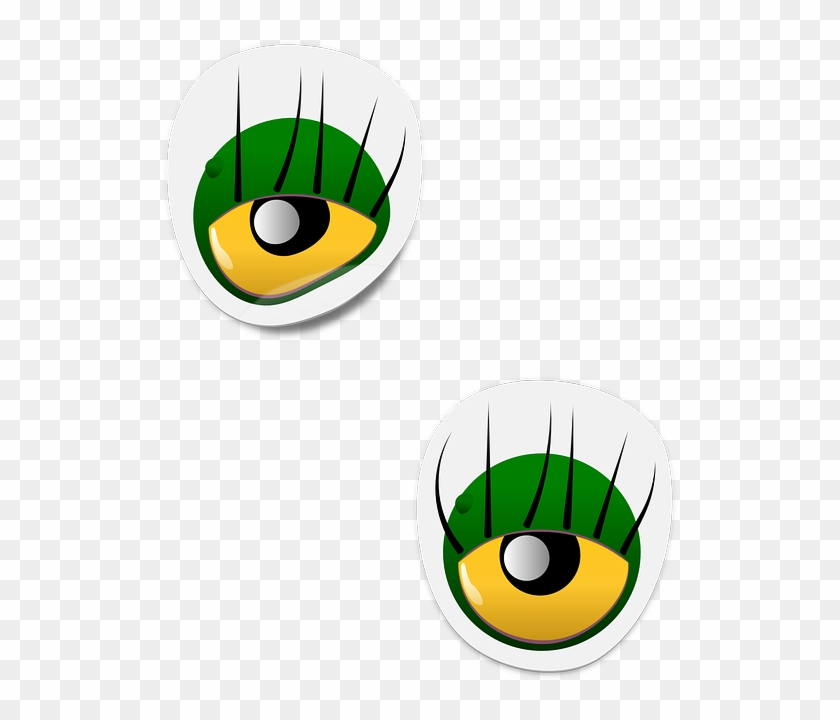Eye Clipart Alien - Cartoon Monster Eyes #171606