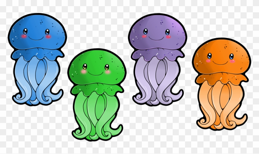 Cute Jellyfish Clipart Free Images - Jellyfish Images Clip Art #171619