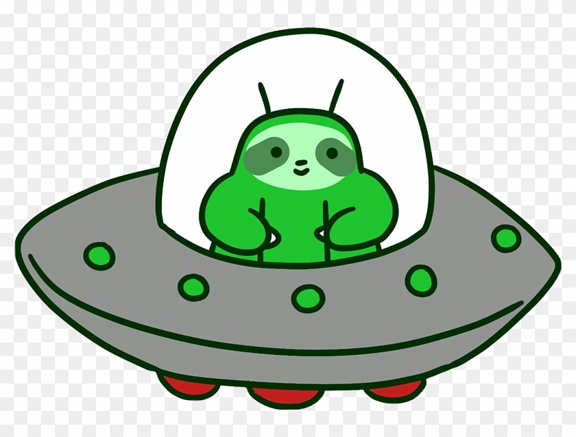 Sign In To Save It To Your Collection - Sloth Ufo #171628
