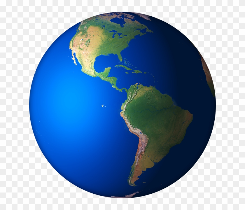 3d Earth Render 02, Globe, Earth, Planet Png And Psd - Earth #171665