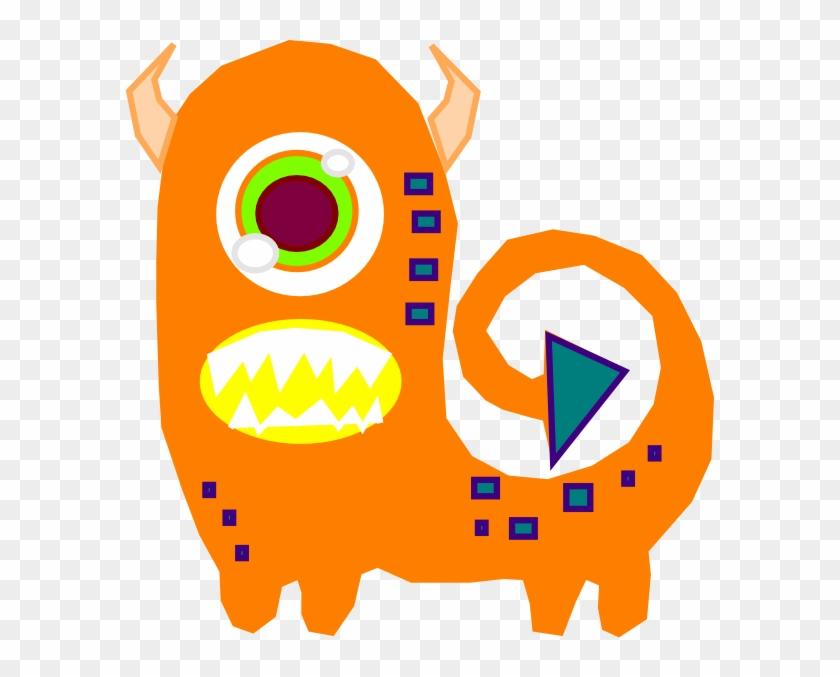 Orange Alien Clip Art - Orange Alien Clipart #171674