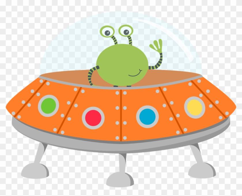 Space - Crayon Alien Clipart #171678