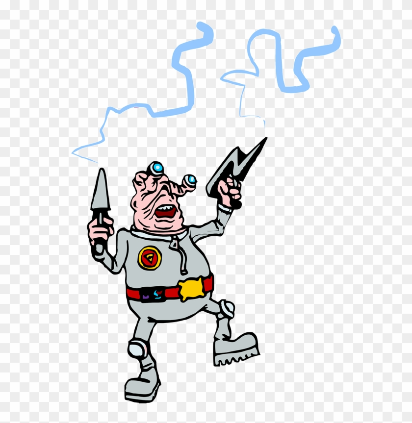 I Found These Classic Free 1998 Clipart Images Of Aliens - Cartoon #171702