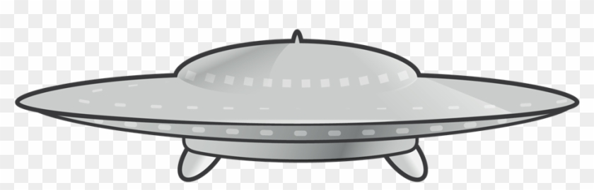 This Unidentified Flying Object Or Ufo Clip Art Is - Flying Saucer Clipart #171706