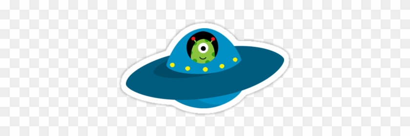 Fresh Cartoon Alien In Spaceship Alien Cute Spaceship - Alien In Flying Saucer #171726
