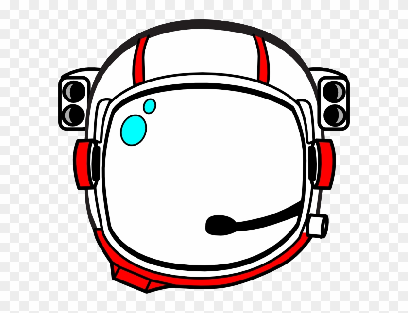 Astronaut Helmet Clip Art - Cartoon Astronaut Helmet #171729