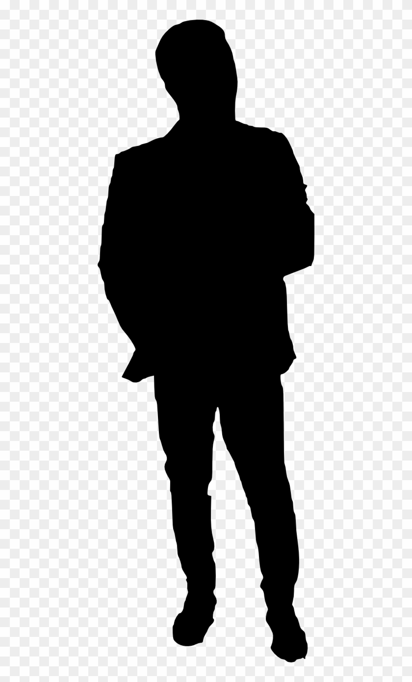 20 Man Silhouette - Human Silhouette Png #171739