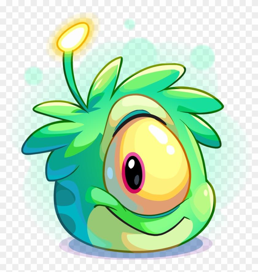 Alien Puffles - Club Penguin Alien Puffle #171752