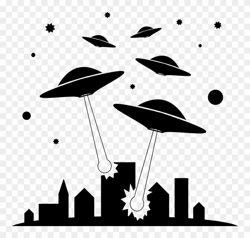Invasion Clipart Alien Invasion - War Of The Worlds #171794